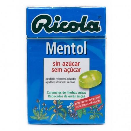 RICOLA CARAMELOS S/A MENTOL