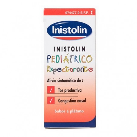 INISTOLIN PEDIATRICO EXPECTORANTE DESCONGESTIVO 20/6 MG/ML JARABE 120 ML