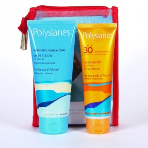 NECESER PACK POLYSIANES SPF 30 GEL NACARADO + GEL FRESCO CALMANTE 125 ML + 200 ML