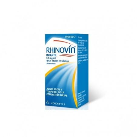 RHINOVIN INFANTIL 0.5 MG/ML GOTAS NASALES 1 FRASCO SOLUCION 10 ML