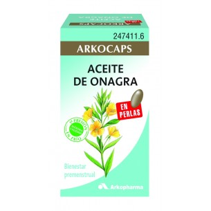 ACEITE DE ONAGRA ARKOPHARMA  200 PERLAS