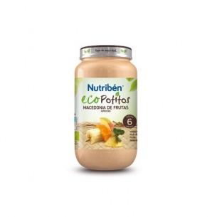 NUTRIBEN ECO MACEDONIA DE FRUTAS SELECTAS  POTITO GRANDOTE 250 G