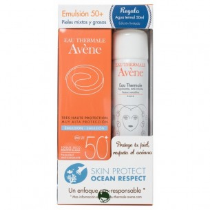 PACK EMULSION 50+ AGUA TERMAL AVENE