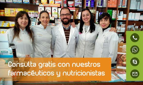 Consulta gratuita con nuestro farmacéutico online.