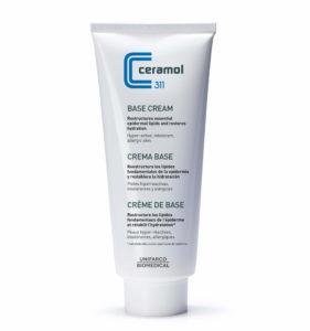 Usa esta crema base ceremol para el Tratamiento natural de la dermatitis atópica.