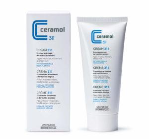 Usa esta crema Ceramol 311 para el Tratamiento natural de la dermatitis atópica.