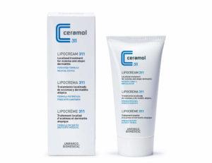 Usa esta lipocrema Ceramol 311 para el Tratamiento natural de la dermatitis atópica.