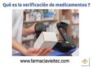 La verificación de medicamentos entra en vigor el 9 de febrero de 2019.