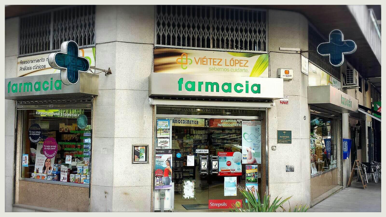 Fachada-Farmacia- Vieitez-Farmacéutico-Online