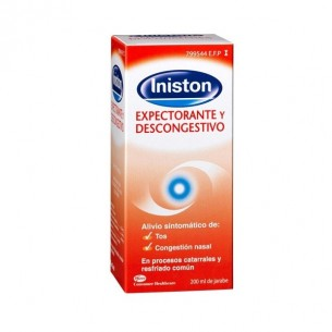 INISTON EXPECTORANTE Y DESCONGESTIVO JARABE 200 ML