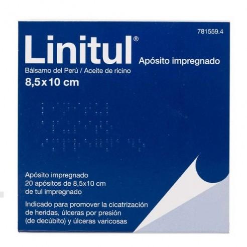LINITUL 20 APOSITOS MONODOSIS 8.5 X 10 CM