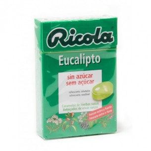 RICOLA CARAMELOS S/A EUCALIPT.