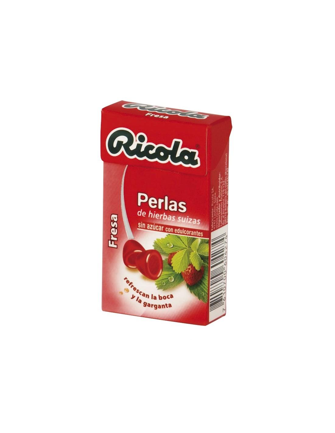 RICOLA PERLAS FRESA