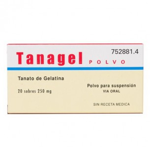 TANAGEL POLVO 250 MG 20 SOBRES