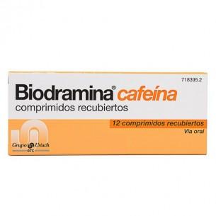 BIODRAMINA CAFEINA 12 COMPRIMIDOS