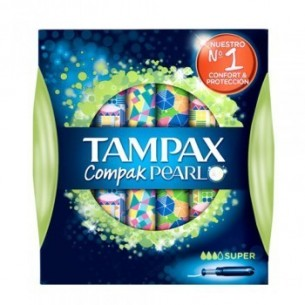 TAMPAX PEARL SUPER 18 UNID