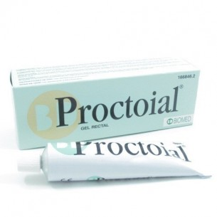 PROCTOIAL GEL HEMORROIDAL CON APLICADOR  30 ML