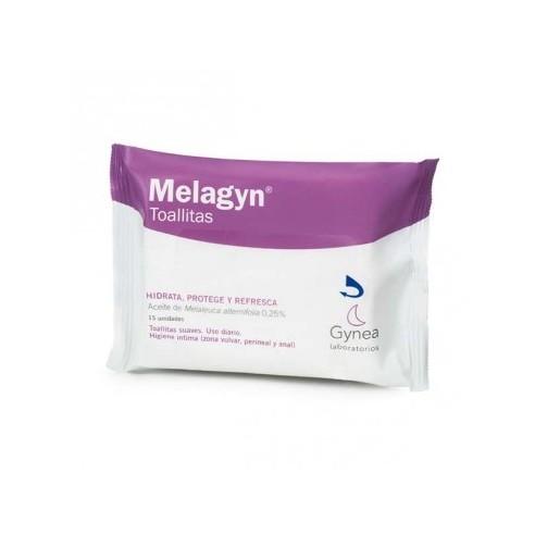 MELAGYN TOALLITAS  FLOW PACK 15 U