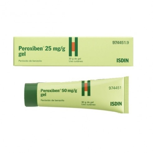 PEROXIBEN 50 MG/G GEL TOPICO 30 G