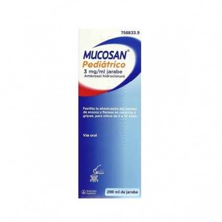 MUCOSAN PEDIATRICO 3 MG/ML JARABE 200 ML