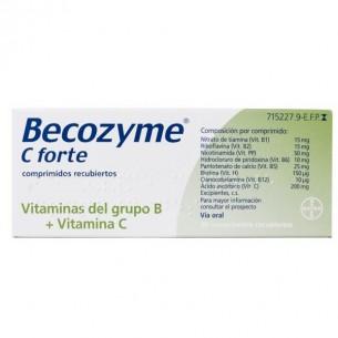 BECOZYME C FORTE 30 COMPRIMIDOS RECUBIERTOS