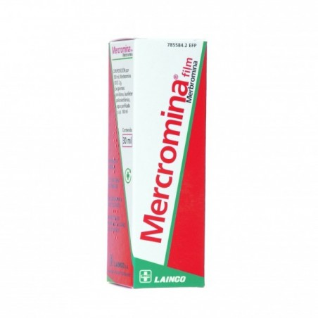 MERCROMINA FILM LAINCO 20 MG/ML SOLUCION TOPICA 30 ML