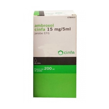 AMBROXOL CINFA EFG 3 MG/ML JARABE 200 ML
