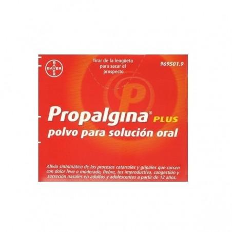 PROPALGINA PLUS 10 SOBRES POLVO SOLUCION ORAL