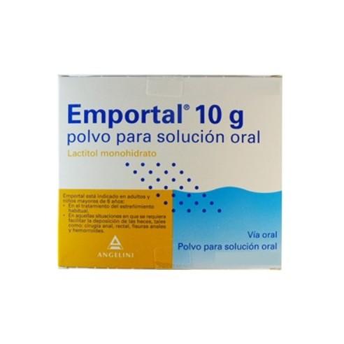 EMPORTAL 10 G 20 SOBRES POLVO SOLUCION ORAL
