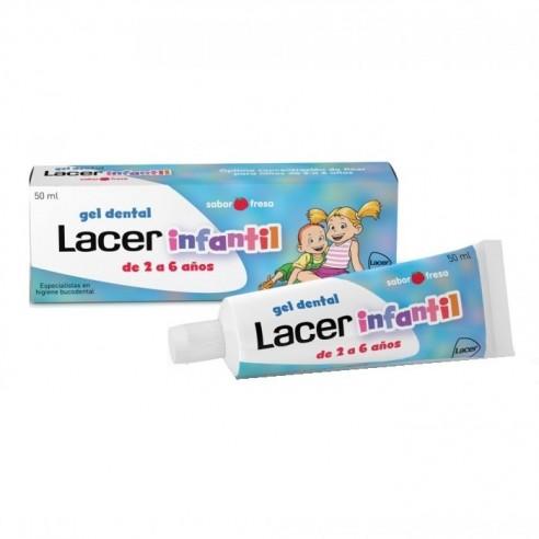 LACER INFANTIL GEL DENTAL  50 ML FRESA