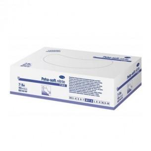 GUANTES DESECHABLES DE NITRILO PEHA-SOFT NITRILE T- PEQ 100 U