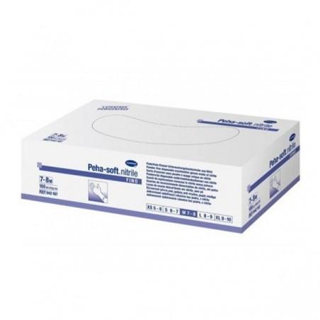GUANTES DESECHABLES DE NITRILO PEHA-SOFT NITRILE T- GDE 100 U