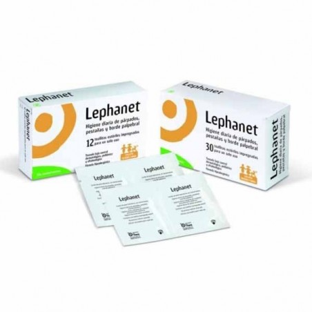 LEPHANET TOALLITAS ESTERILES  12 TOALLITAS