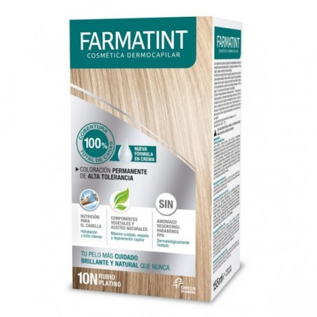 FARMATINT TINTE CAPILAR  10 N RUBIO PLATINO