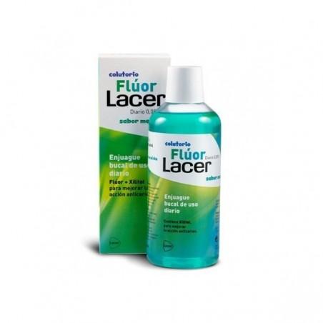 LACER COLUTORIO FLUOR DIARIO 0,05 %  MENTA 500 ML