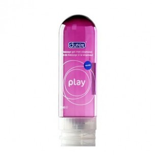 DUREX PLAY MASSAGE LUBRICANTE HIDROSOLUBLE INTIMO CON ALOE VERA 200 ML