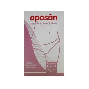 BRAGA DESECHABLE APOSAN  T- GDE 4 U