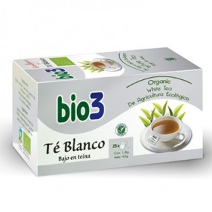 BIO3 TE BLANCO 2 G 25 FILTROS