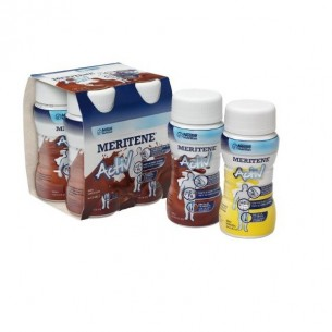 MERITENE DRINK  125 ML 4 BOTELLAS CHOCOLATE