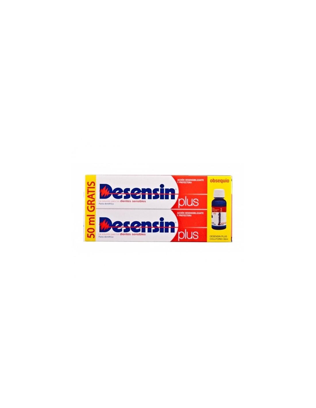 DESENSIN PLUS PACK PASTA DENTAL  2 X 150 ML