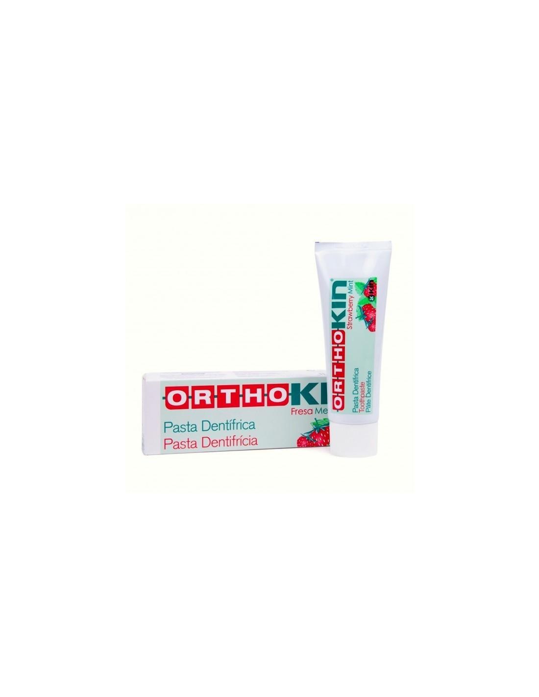 ORTHOKIN PASTA DENTIFRICA  75 ML FRESA MENTOLADA