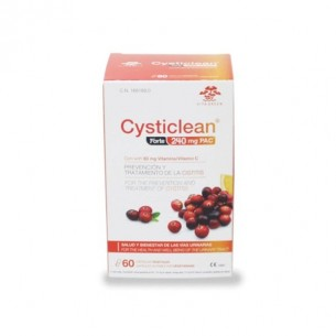 CYSTICLEAN FORTE  240 MG 60 CAPSULAS