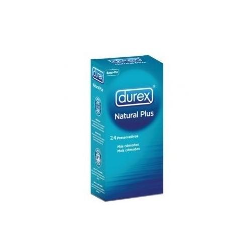 DUREX NATURAL PLUS PRESERVATIVOS 24 U