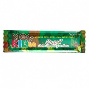 MONKIDS JUNIOR BARRITA CHOCOLATE AVELLANA  1 BAR