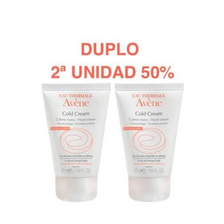 AVENE COLD CREAM CREMA DE MANOS CONCENTRADA  PACK DUO 2 X 50 ML