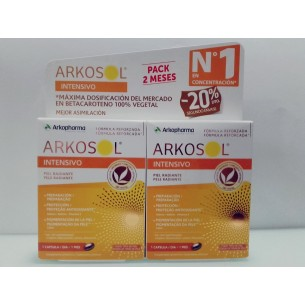 ARKOSOL PACK 2 MESES  INTENSIVO