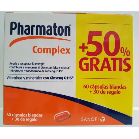 PHARMATON COMPLEX PACK 60+30