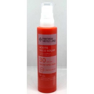 SPRAY ACEITE SOLAR SPF 30+ 150 ML FARMACIA VIEITEZ