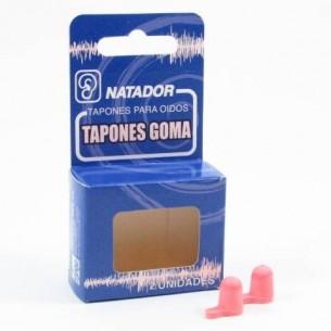 TAPONES OIDOS GOMAESPUMA NATADOR 2 U