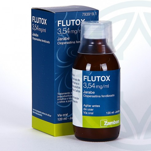 FLUTOX 3.54 MG/ML JARABE 120 ML